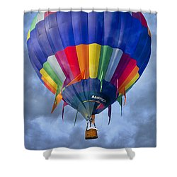Flying The Coop Shower Curtain