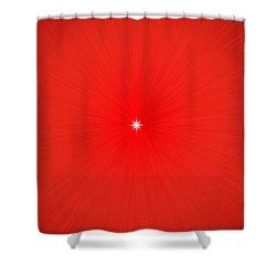 Focus For Meditation Shower Curtain by Philip Ralley
