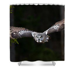 Focus On The Target Shower Curtain