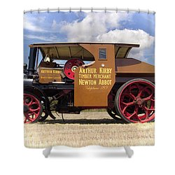 Foden Tractor Shower Curtain