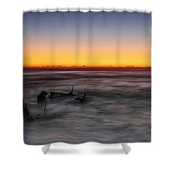Forever At Sea Shower Curtain