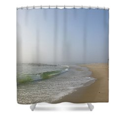 Fog And Blue Sky 2 Shower Curtain
