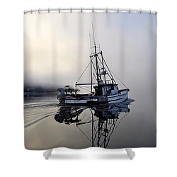 Fog Bound Shower Curtain