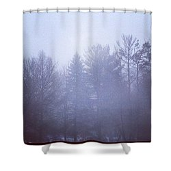 Fog Shower Curtain