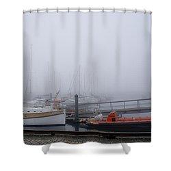 Fog In Marina IIi Shower Curtain