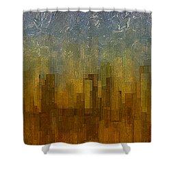 Fog Over Midtown Shower Curtain by Jack Zulli