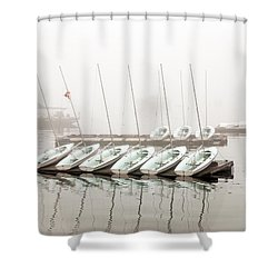 Fogged In Shower Curtain by Bob Orsillo