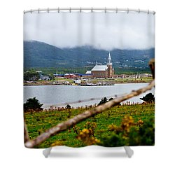 Foggy Day In Cheticamp Shower Curtain