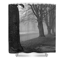 Shower Curtain featuring the photograph Foggy Day by Randi Grace Nilsberg