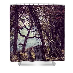 Shower Curtain featuring the photograph Foggy Memories by Melanie Lankford Photography