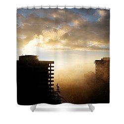 Foggy Morn Shower Curtain by Lisa Knechtel