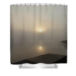 Foggy Reflections Shower Curtain