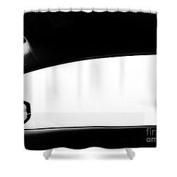 Foggy Window Shower Curtain