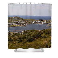 Fogo Shower Curtain