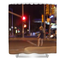 Follow The Heart Shower Curtain by Kume Bryant