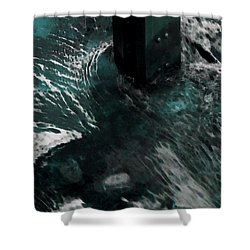 Shower Curtain featuring the photograph Follow The Tao by Lauren Radke
