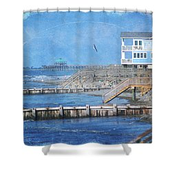 Folly Beach Shower Curtain