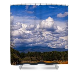 Fontana Lake Storm 2 Shower Curtain