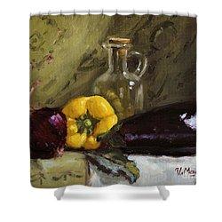 Food Still Life Shower Curtain