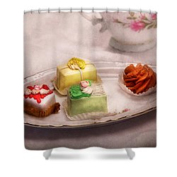 Food - Sweet - Cake - Grandma's Treats  Shower Curtain by Mike Savad