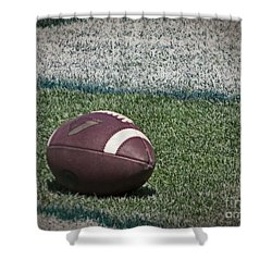 An American Football Shower Curtain