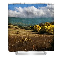 Foothill Autumn In Southern Oregon Shower Curtain by Mick Anderson
