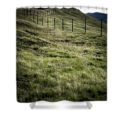 Foothills Of The Tehachipis Shower Curtain