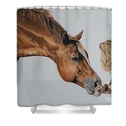 For Amy Shower Curtain by Joni Beinborn