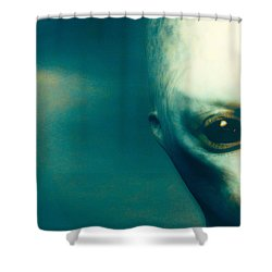 For Betty And Barney Hill Shower Curtain by Bob Orsillo