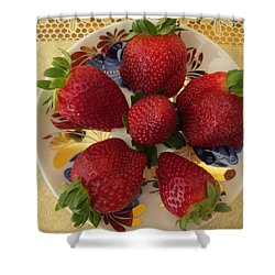 For Dessert II Shower Curtain by Zina Stromberg