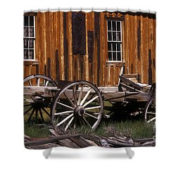 For Spare Parts Shower Curtain by Paul W Faust -  Impressions of Light
