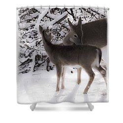 For The Love Shower Curtain