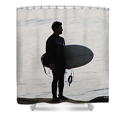 For The Love Of The Ride Shower Curtain