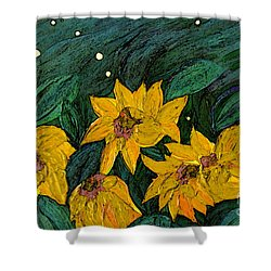 For Vincent By Jrr Shower Curtain by First Star Art