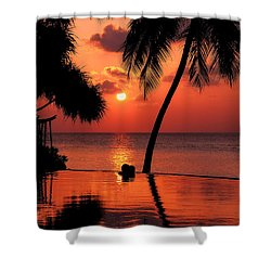 For You. Dream Coming True I. Maldives Shower Curtain by Jenny Rainbow