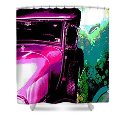 Ford A - Plantation 2 Shower Curtain by Marcello Cicchini