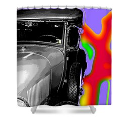 Ford A - Plantation Shower Curtain by Marcello Cicchini