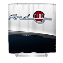 Ford F-100 Shower Curtain