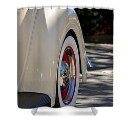 Ford Fender Shower Curtain by Dean Ferreira