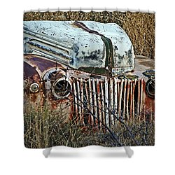 Ford Gets A Facelift Shower Curtain by Lee Craig