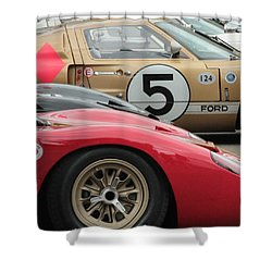 Ford Gt 40's Shower Curtain