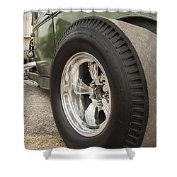 Ford Model A Hotrod Shower Curtain