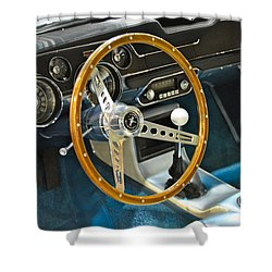 Ford Mustang Shelby Shower Curtain