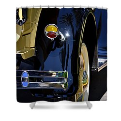 Ford Pickup Shower Curtain by Dean Ferreira