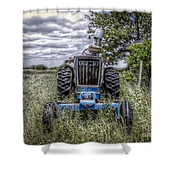 Ford Shower Curtain by Savannah Gibbs