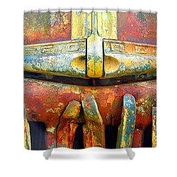 Ford Tough Shower Curtain by Lauren Leigh Hunter Fine Art Photography