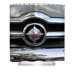 Ford V8 1949 - Vintage Shower Curtain