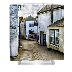 Fore Street Port Isaac Shower Curtain