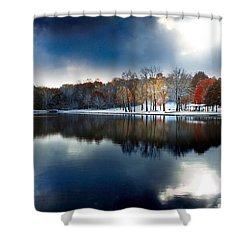 Foreboding Beauty Shower Curtain
