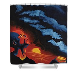 Foreseen Shower Curtain by Michael  TMAD Finney